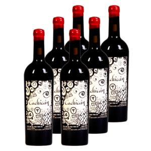 Cachicán DO Bierzo Coupage Vino Tinto Caja de 6 Botellas