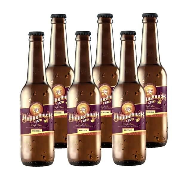 Doce Setenta Dopplebock Tostada Cerveza Artesanal Premium 1270