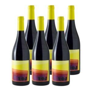 VI Lof Roble 2018 DO Bierzo Mencía Vino Tinto (Caja de 6 botellas)