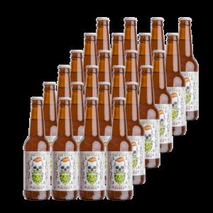 Belecker Hipster Juice Craft Beer 33cl. Cerveza Artesanal Bierzo (Caja de 24 uds.) NEIPA