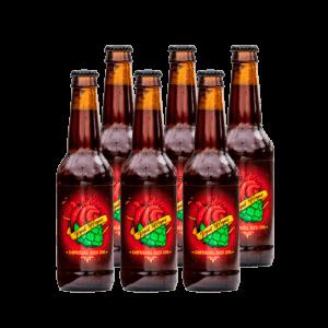 Belecker Red Hops Craft Beer 33cl. Cerveza Artesanal Bierzo