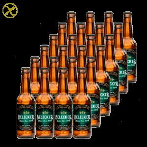 Belecker Session IPA Craft Beer 33cl. Cerveza Artesanal Bierzo – Sin Gluten (Caja de 24 uds.)