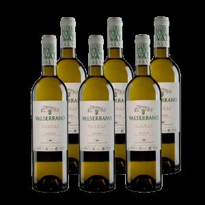 Valserrano Blanco Barrica DO Rioja Viura Vino Blanco (Caja de 6 uds.)